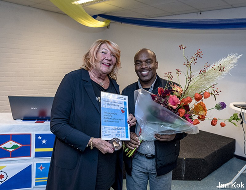Capels Compliment voor Pasito Stroop