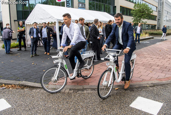 Gobike station Capelle Rivium geopend