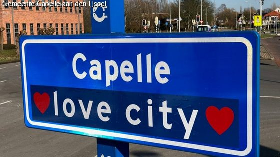 Capelle 'Love City' op 14 februari