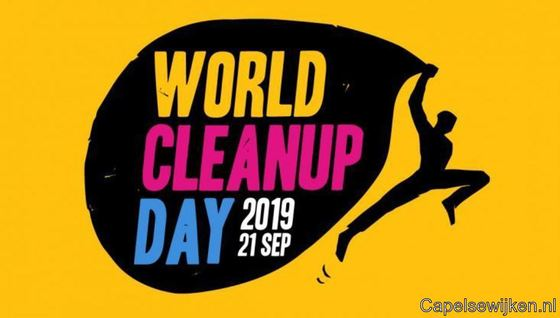 Doe mee aan World Cleanup Day